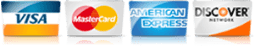 For AC in Dallas TX, we accept most major credit cards.